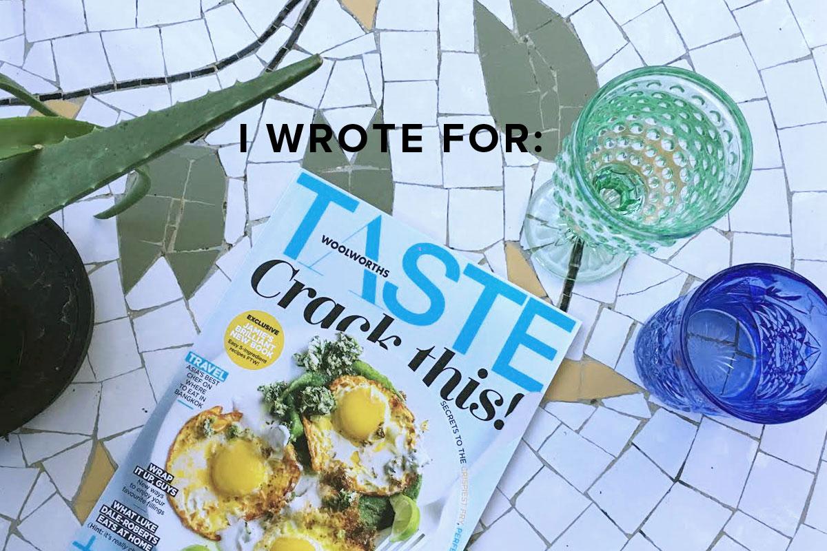 taste_writing